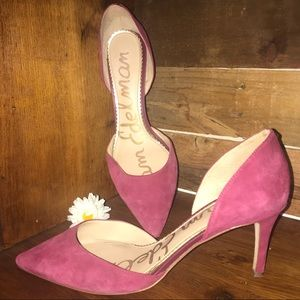 Sam Edelman Raspberry Fuchsia Pumps Heels